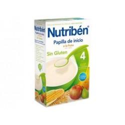 NUTRIBEN PAPILLA INICIO FRUTA 300 G SIN GLUTEN