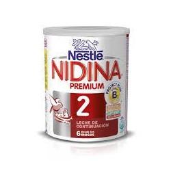 NIDINA 2 PREMIUM 800 G. LECHE 2.ª EDAD NESTLE