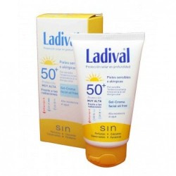 LADIVAL GEL-CR FACIAL FPS 50 75 ML