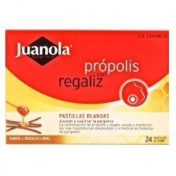 PASTILLAS BLANDAS JUANOLA PROPOLIS + REGALIZ 48 G