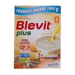 BLEVIT PLUS 8 CEREALES MIEL 1000 GRAMOS