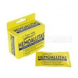 HEMOALLITAS SOBRES 1X10 UDES HIGIENE ANAL TOALLI