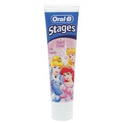 DENTÍFRICO ORAL-B STAGES PRINCESAS - 75 ML