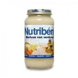 NUTRIBEN GRANDOTE MERLUZA VERDURA 250 GR