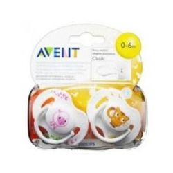 AVENT CHUPETE MINI 0-2 M NEUTRO