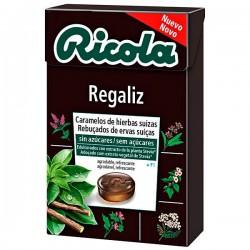 RICOLA CARAM S/AZU 50 G REGALIZ