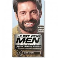 JUST FOR MEN BIGOTE BARBA NEGRO 30 ML P424