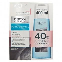 VICHY DERCOS CHAMPÚ DERMOCALMANTE DUPLO - 2 X 200 ML