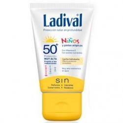 LADIVAL NIÑOS LECHE FPS50 75 ML