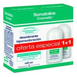SOMATOLINE DUO PACK DESODORANTE HIPERSUDORACION