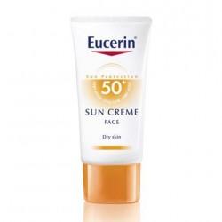 EUCERIN PROTECTOR SOLAR CREMA FACIAL - PIEL SECA - SFP50+ 50 ML