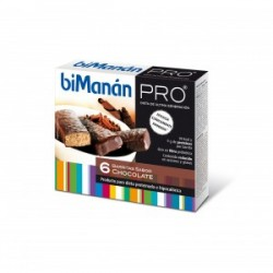 BIMANAN PRO BARRITA CHOCOLATE 6UD X 27GR