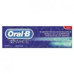 ORAL-B 3D WHITE BRILLO SALUDABLE - 75 ML