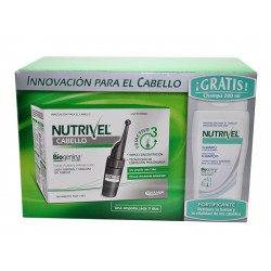 NUTRIVEL 10 AMPOLLAS + CHAMPU 200 ML