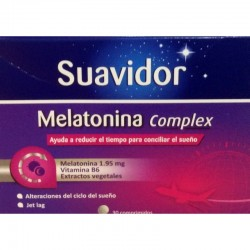 SUAVIDOR MELATONINA 1,95MG 30CO