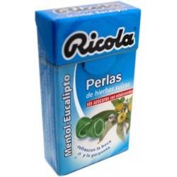 RICOLA PERLAS S/A EUCALIPTUS 25 G.