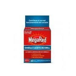 MEGARED 500 OMEGA 3 ACEITE DE KRILL 60 U