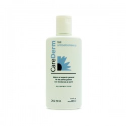 CAREDERM GEL ANTISEBORREICO 200 ML.