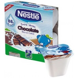 NESTLE POSTRE LACTEO CHOCOLATE 4X100 G.