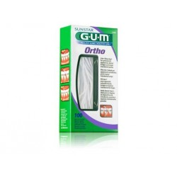 GUM 2080 ORTHO + FLOSS SEDA DENTAL