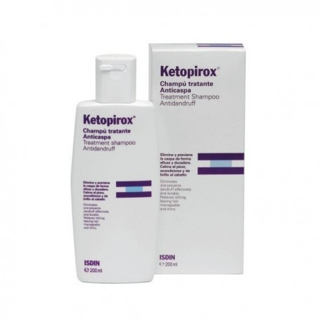 KETOPIROX CHAMPU ANTICASPA - 200 ML