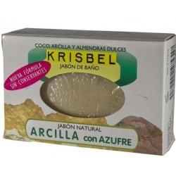 KRISBEL JABON ARCILLA Y AZUFRE 125 GR