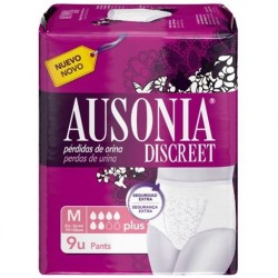 INCONT AUSONIA DISCRET PANTS PLUS TM 2X9