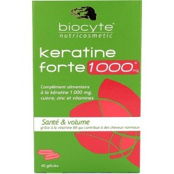BIOCYTE KERATINA FORTE 1000MG 40CAPS