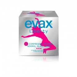 COMPRESAS EVAX LIBERTY NORMAL ALAS