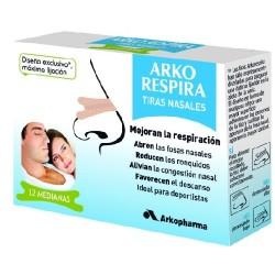 ARKORESPIRA TIRAS NASALES X 12 MODELO GRANDE
