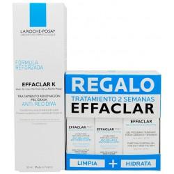 EFFACLAR K (30ML) + REGALO TRATAMIENTO 2 SEMANAS EFACLAR GEL (15nl) + 2 EFFACLAR MATT (3ML)