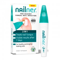 NAILNER 2 EN 1 LAPIZ ANTIHONGOS 4 ML