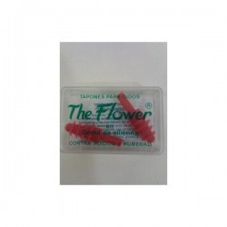 THE FLOWER TAPONES DE OIDO GOMA